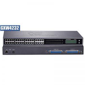 PASSERELLE GRANDSTREAM GXW4232 / 24 FXS 1 RJ45 1 CONSOLE/DISP